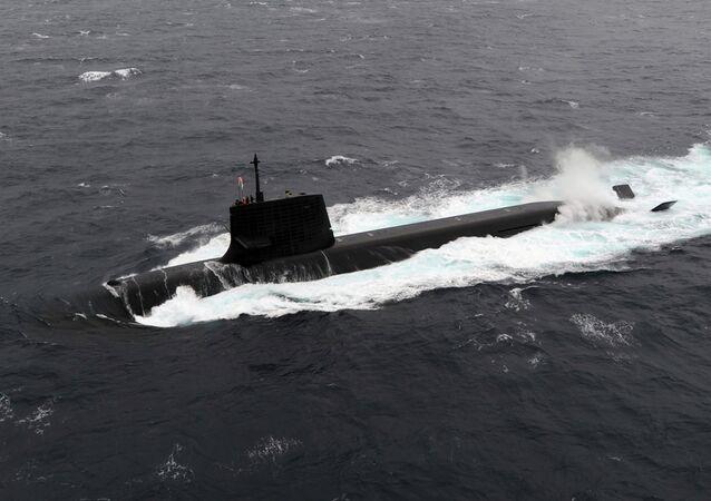 Submarino Soryu da Força Marítima de Autodefesa japonesa
