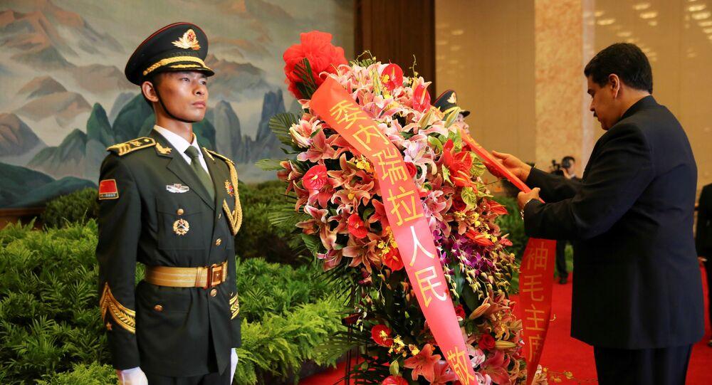 Nicolás Maduro em China