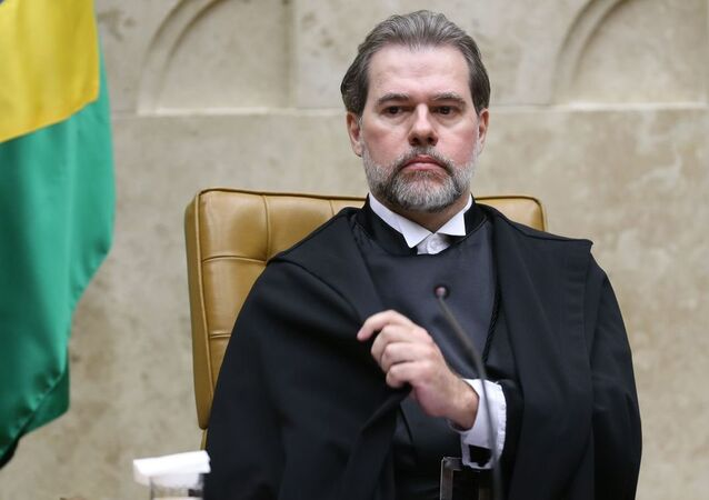 Dias Toffoli toma posse como presidente do Supremo Tribunal Federal (STF).
