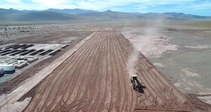 A radiação solar na Puna Argentina é de 2.500 quilowatts por metro quadrado, apenas comparável ao deserto do Saara