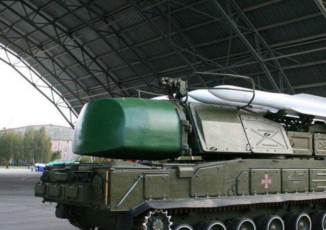 Sistema ucraniano de mísseis Buk-M1