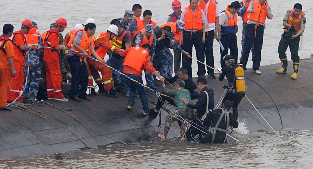 Operação de resgate na China