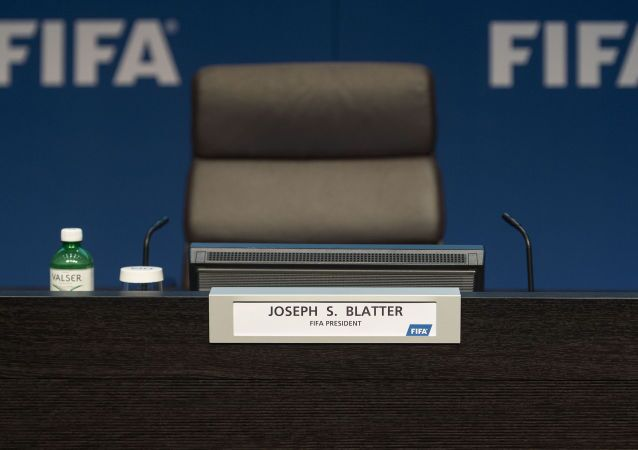 Assento vazio de Joseph Blatter