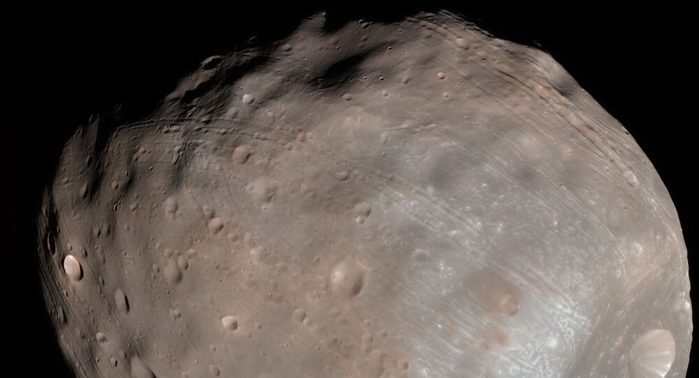 Fobos, satélite de Marte
