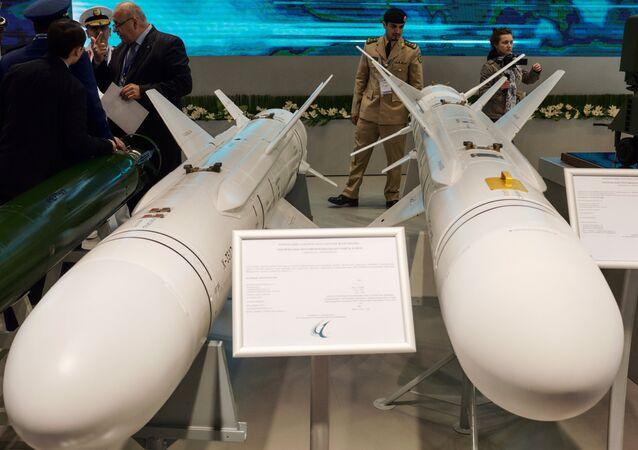 Misiles antinavio russos Kh-35UE