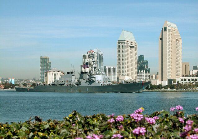 Destróier norte-americano USS Decatur