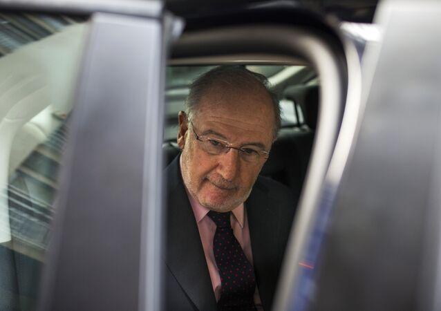 O ex-diretor do Fundo Monetário Internacional (FMI) Rodrigo Rato