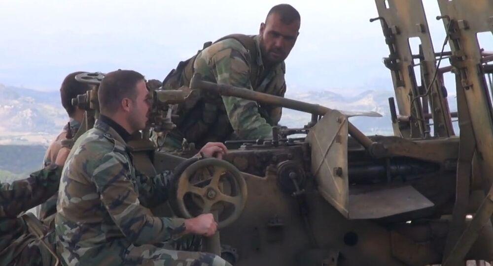 Exército sírio