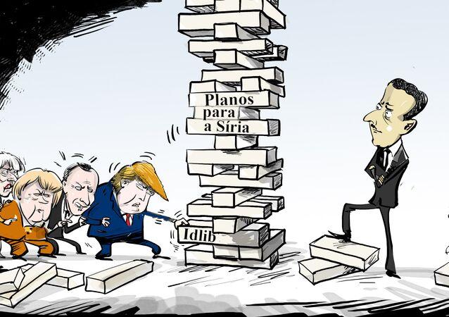 Nesse Jenga sírio só quem perde é o Ocidente