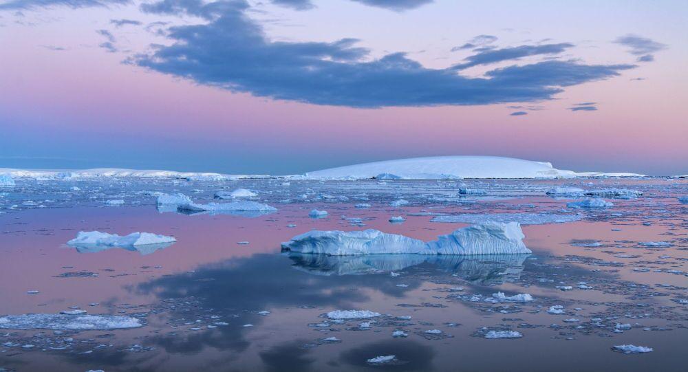 Mar de Weddell, na Antártida