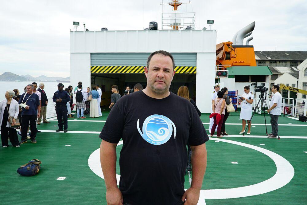 Meteorologista Marcelo Santini, pós-doutorando do Instituto Nacional de Pesquisas Espaciais (INPE)