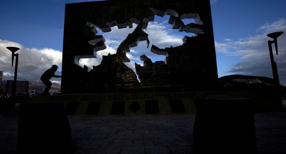 Memorial em Ushuaia da Guerra das Malvinas