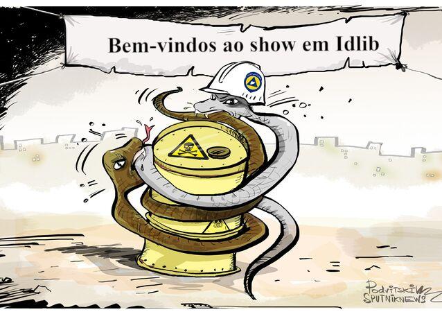 Show acabará quando todas as cobras na Síria comerem umas às outras
