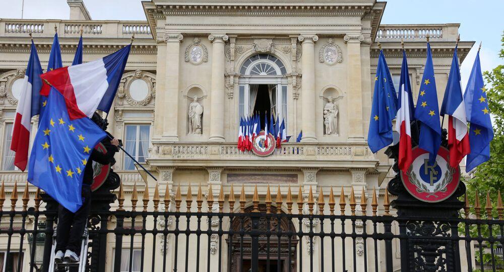 Ministério das Relações Exteriores da França, em Paris (foto de arquivo)