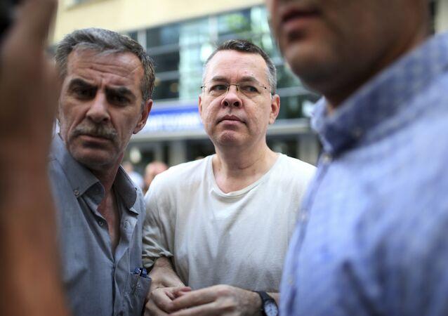Andrew Craig Brunson, pastor norte-americano preso na Turquia em 2016