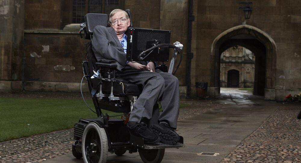 Cientista britânico, Stephen Hawking