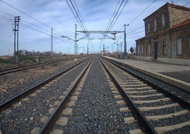 Trilho de trem (imagem de arquivo)