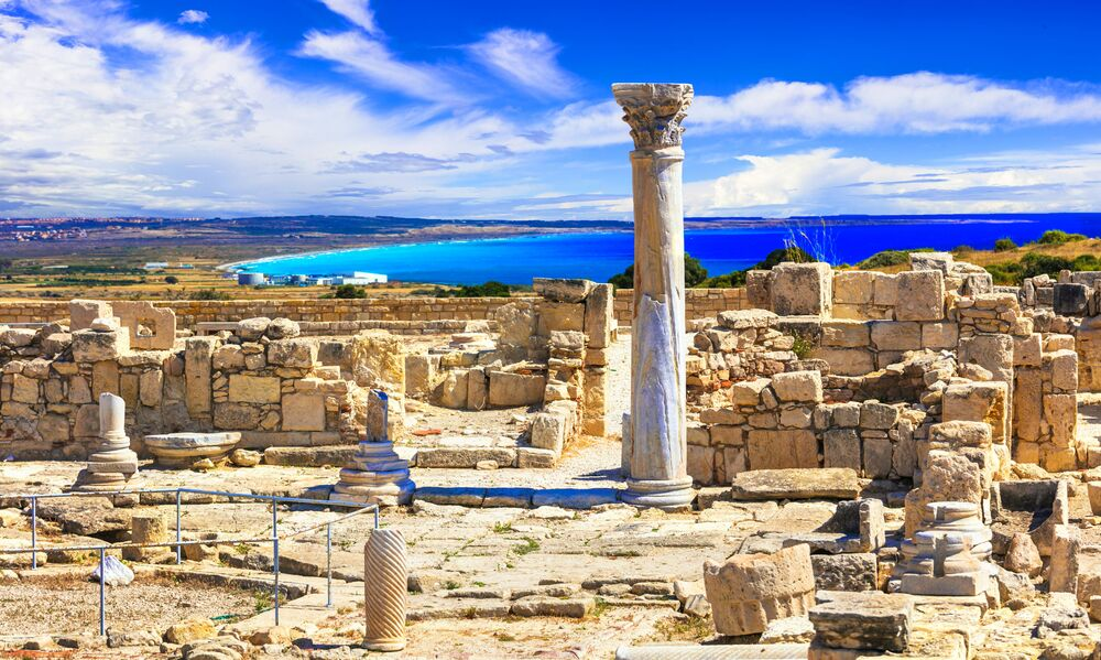 Cidade cipriota de Pafos
