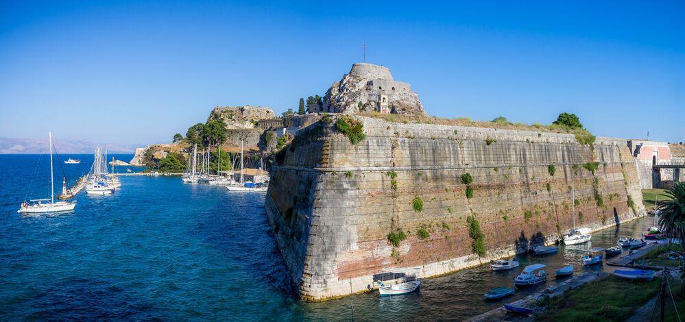 Ilha grega de Corfu