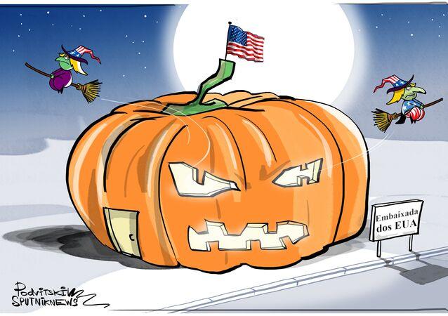 Halloween perde toda a graça com diplomatas americanos