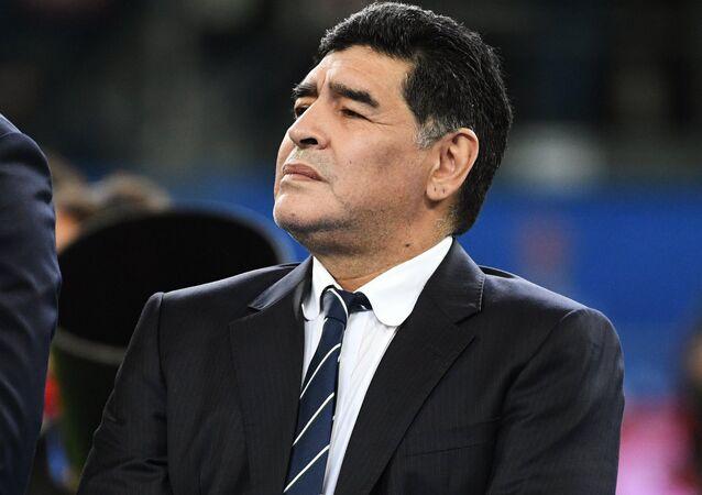 Diego Maradona (foto de arquivo)