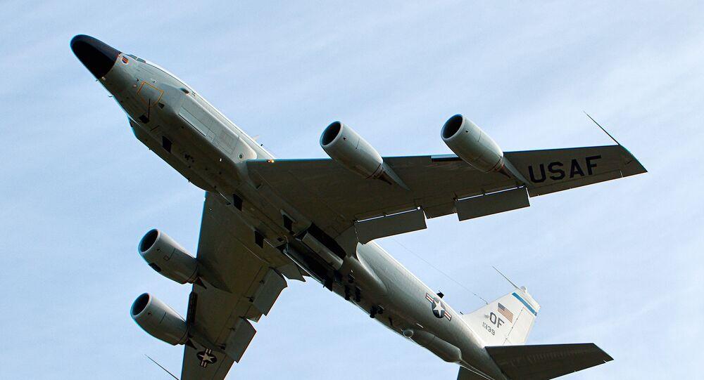 Avião de reconhecimento norte-americano RC-135