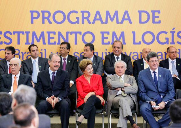 Cerimônia de lançamento da segunda fase do Programa de Investimento em Logística (PIL)
