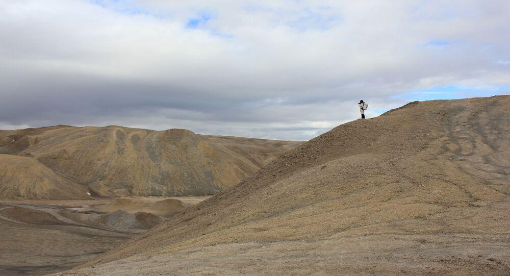Marte recriado em Utah, nos EUA