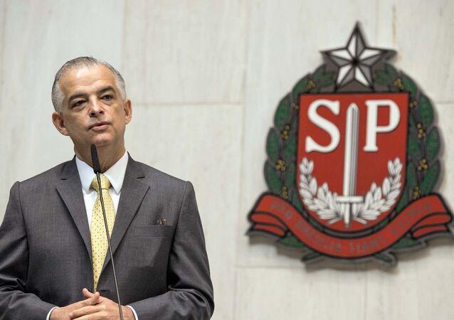 Governador de São Paulo, Márcio França (PSB) - foto de arquivo