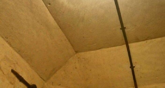 No interior de um bunker, Atenas
