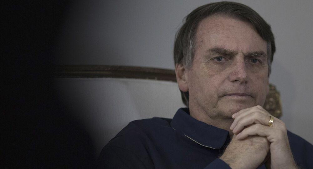 Jair Bolsonaro, presidente eleito do Brasil