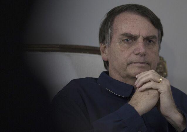 Jair Bolsonaro, presidente do Brasil (arquivo)