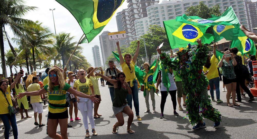 Apoiadores de Jair Bolsonarono