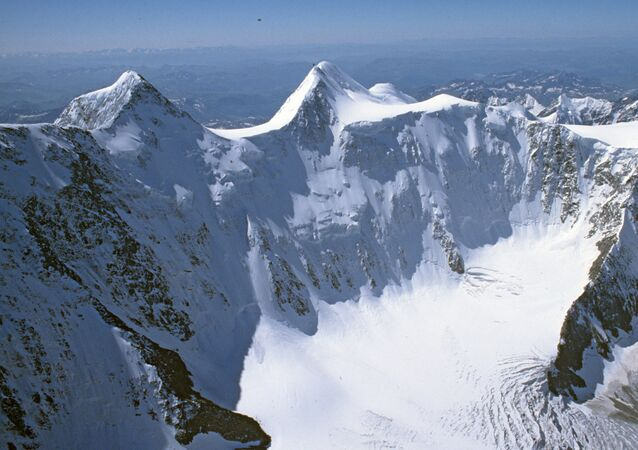 Cordilheira de Altai, no sul da Rússia, perto das fronteiras com a China e Mongólia