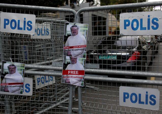 Fotos do jornalista Jamal Khashoggi
