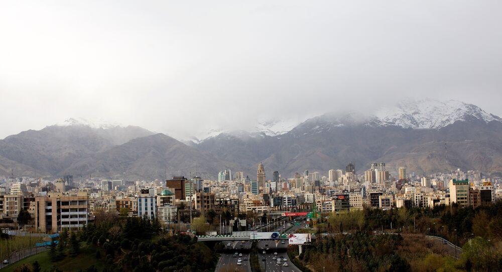 Vista geral de Teerã