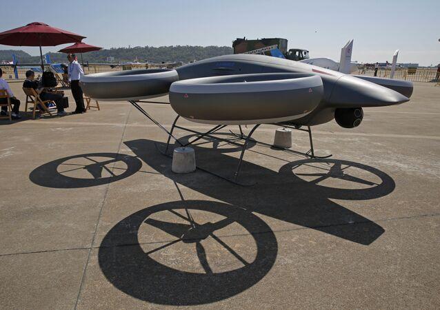 Drone AVIC A-Hawk II na Exposição Internacional de Aviação & Aeroespacial da China 2018