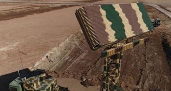 Radar 3D Basheer utilizado durante as manobras iranianas Velayat