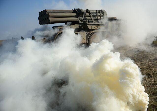 Lança-mísseis (foto de arquivo)
