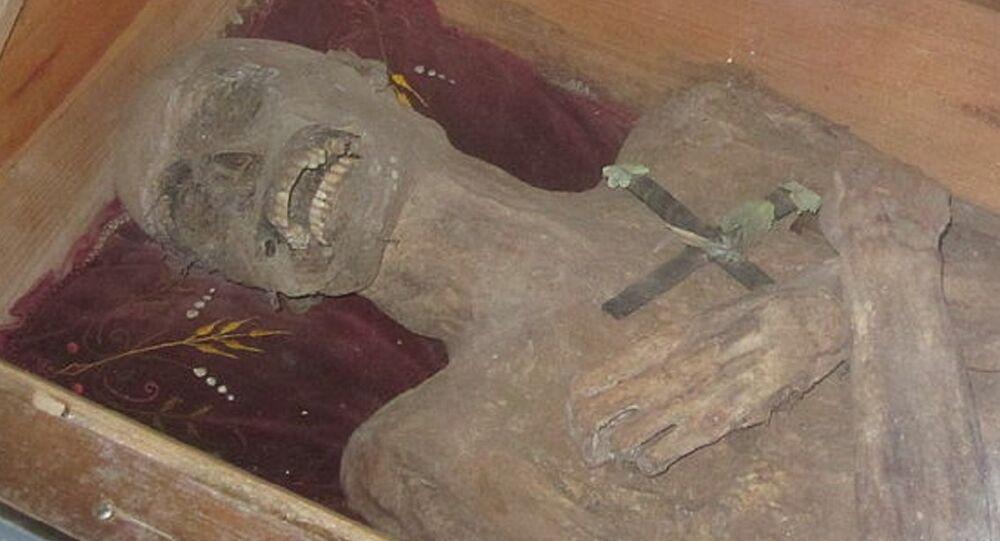 Múmia de Franz Xaver Sydler von Rosenegg