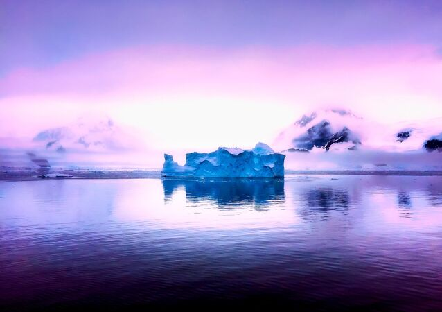 Iceberg na Antártida (imagem ilustrativa)