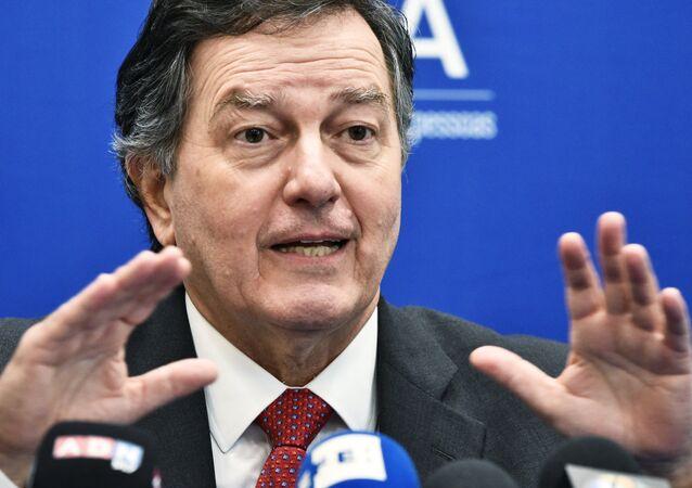 Roberto Ampuero, ministro das Relações Exteriores do Chile.