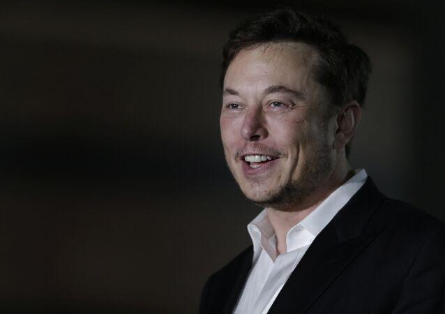 Elon Musk, fundador das empresas SpaceX e Tesla Motors