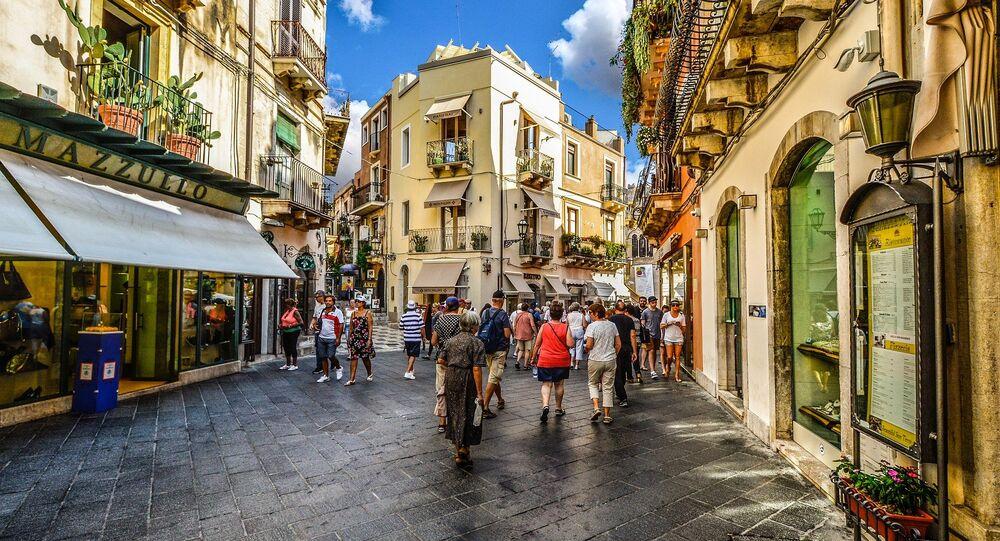Ruas da Itália (imagens referencial)
