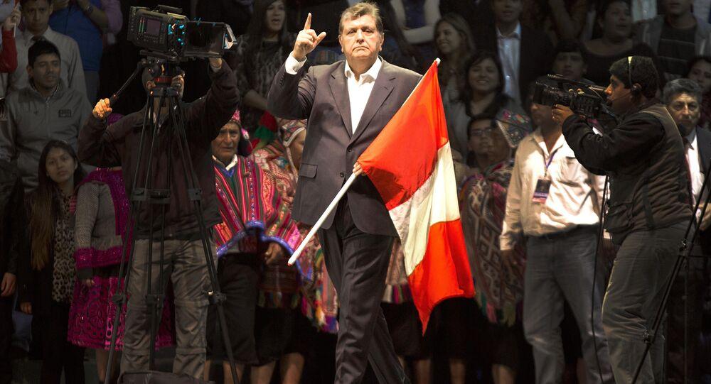 Alan García, ex-presidente do Peru