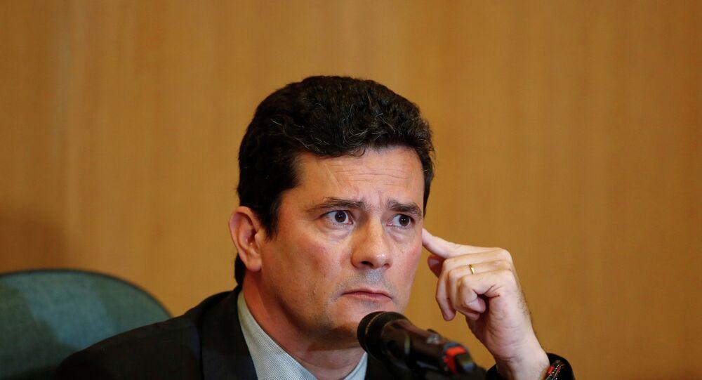 O futuro ministro da Justiça e da Segurança Pública Sergio Moro.
