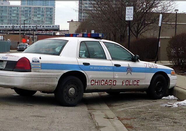Veículo da Polícia de Chicago (arquivo)