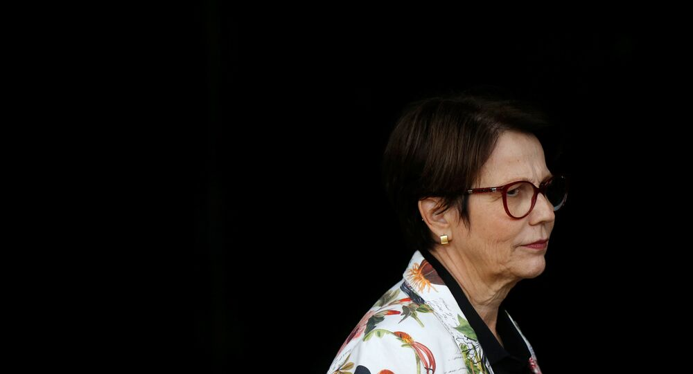 A futura ministra da Agricultura Tereza Cristina.