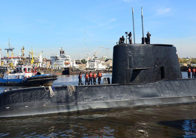Submarino ARA San Juan (arquivo)