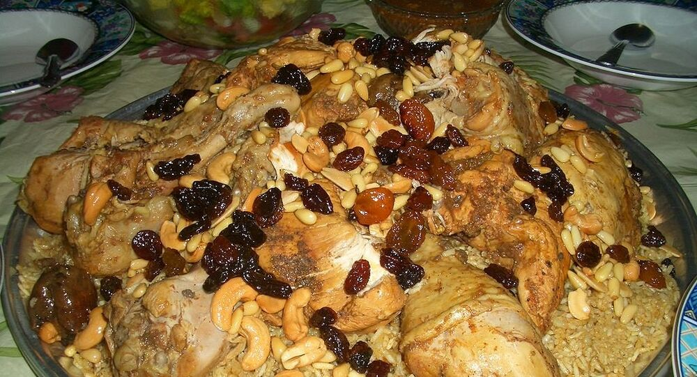 Kabsa, prato típico árabe (imagem referencial)